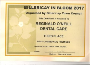 Billericay in bloom commercial premises